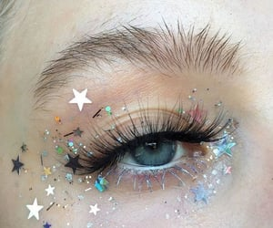 aesthetic, makeup, and stars image