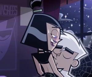 cartoon, couple, and danny phantom image