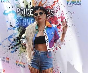 aesthetic, Lady gaga, and lesbian image