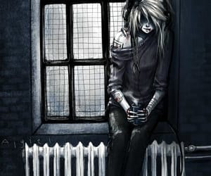 dark, suicide, and emo image