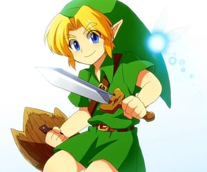 the legend of zelda and young link image