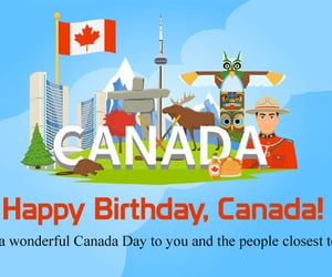 freedom, liberty, and canada day image