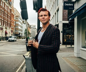 drummer, 5 seconds of summer, and red hair image