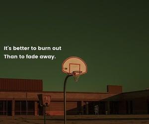 away, burn, and Basketball image