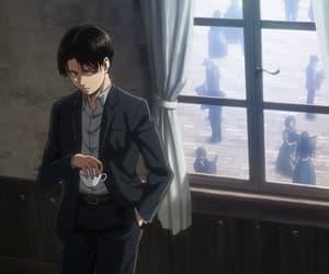 anime, Erwin, and girl image