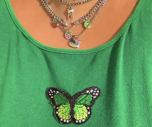 aesthetic, butterfly, and carefree image