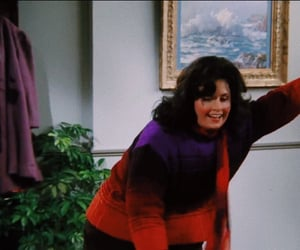 fat, monica, and smile image
