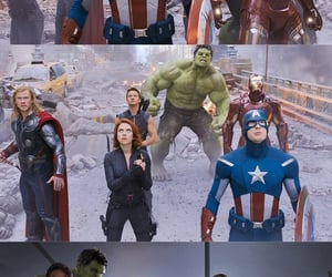 Avengers, background, and black widow image