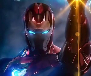 Avengers, background, and iron man image