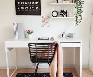 home decor, home interior, and home office image