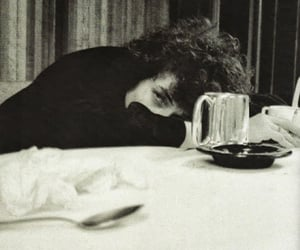 bob dylan, black and white, and 60s image