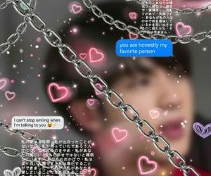 jin, kpop, and theme image
