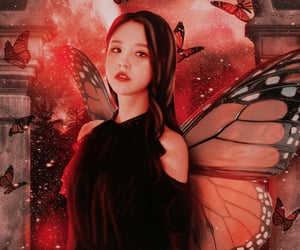 aesthetic, butterfly, and edit image