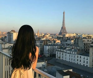 girl, paris, and aesthetic image
