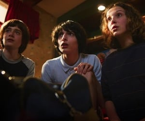 stranger things, millie bobby brown, and mike image