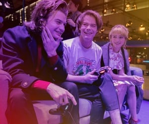 steve harrington, jonathan byers, and st3 image