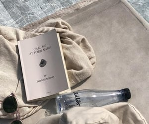 book, pool, and drink image