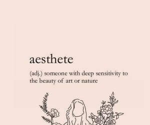 aesthetic, aesthete, and definition image