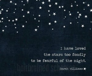 beauty, quote, and stars image