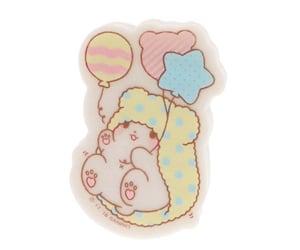 balloons, eraser, and kawaii image