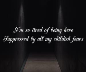 Lyrics, amy lee, and evanescence image