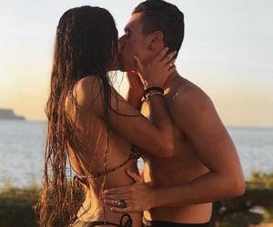 adventure, beach, and couple image