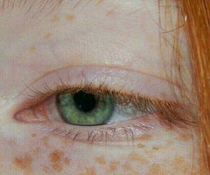 green, eyes, and red image