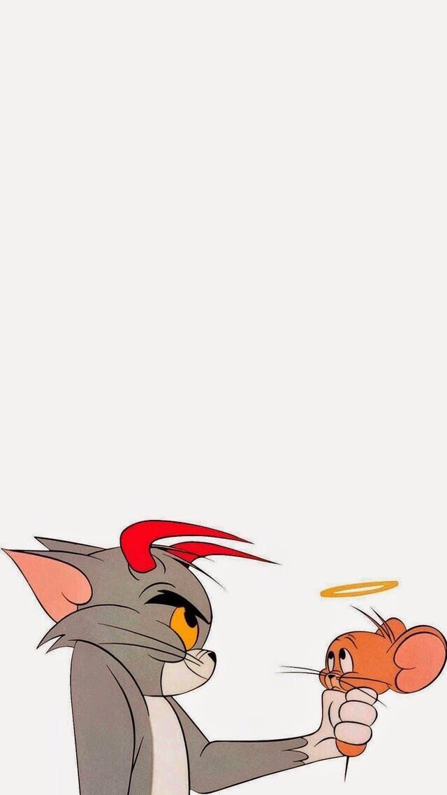 Wallpaper Angel And Tom And Jerry Image
