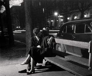 couple, Robert Doisneau, and love image