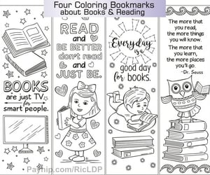 bookmarks, cartoon, and coloring image