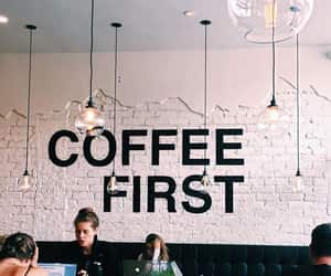 article, coffee shop, and tag image