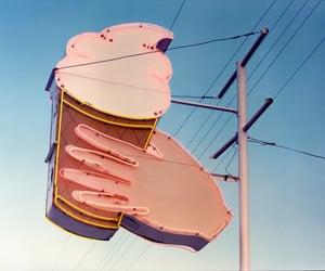 aesthetic, ice cream, and sky image