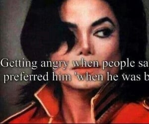 angel, gone too soon, and king of pop image