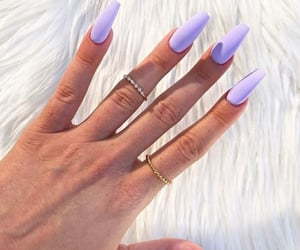 claws, matte, and nails image