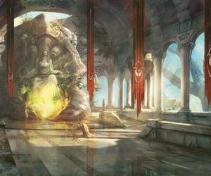 art, fantasy, and gods image