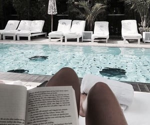 summer, book, and travel image