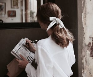 girl, hair, and chanel image