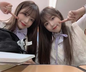 yuri, izone, and yena image