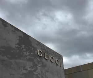 aesthetic, grey, and gucci image