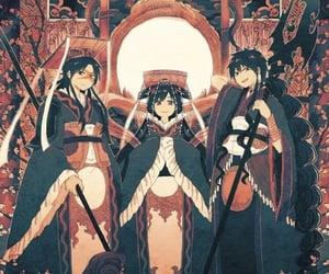 magi, hakuryuu, and kougyoku image