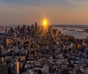 new york, new york city, and photographie image
