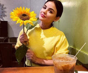 flower and lucy hale image