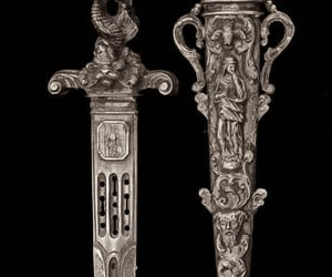 dagger and silver image