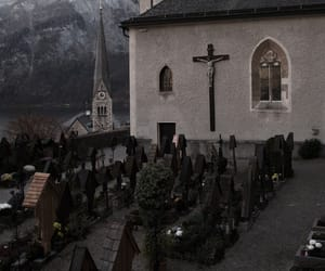 cemetery and hallstatt image