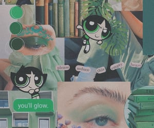 background, buttercup, and green image