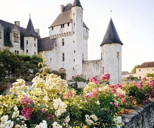 buildings, castle, and enchanted image