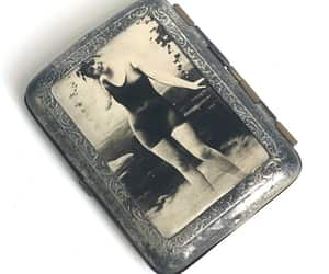 etsy, men card case wallet, and sexy cigarette case image
