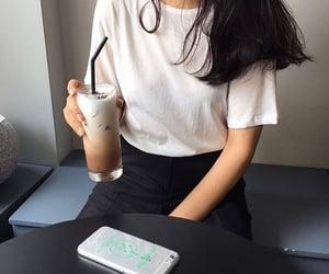 ulzzang, aesthetic, and coffee image