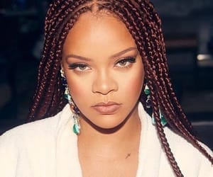 rihanna, braids, and celebrity image