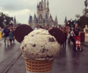 disney, ice cream, and cookies and cream image